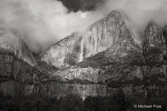 Clearing Storm Over Yosemite Falls