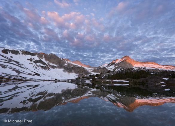 19. Sunrise, North Peak and Greenstone Lake