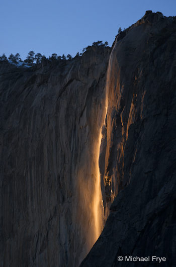 Horsetail Fall, February 22nd, 2010