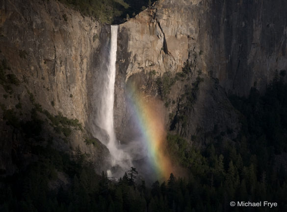 Rainbow on Bridalveil Fall