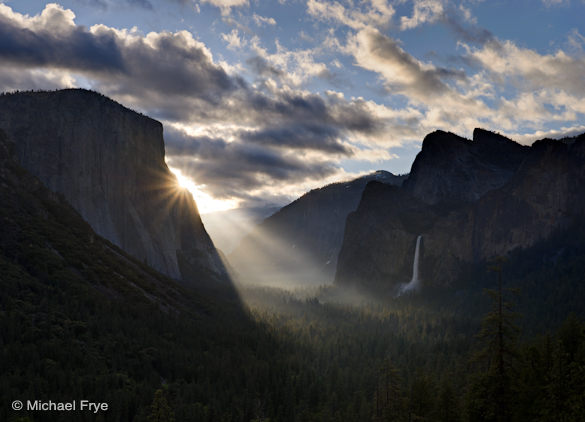 14. Sunbeams from Tunnel View