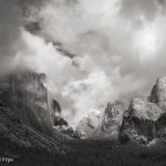 Clearing storm from Tunnel View, 5:03 p.m. last Sunday.