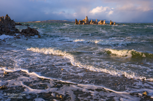 Stormy afternoon at South Tufa, Mono Lake