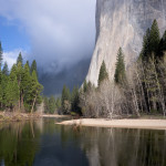 El Capitan and the Merced River, Yosemite NP, CA, USA