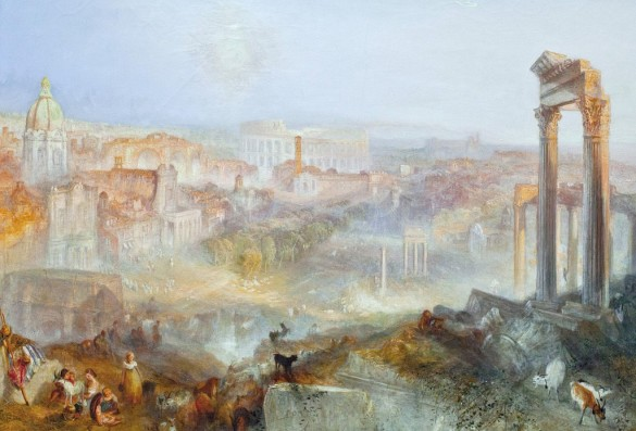 Modern Rome — Campo Vaccino, by JMW Turner