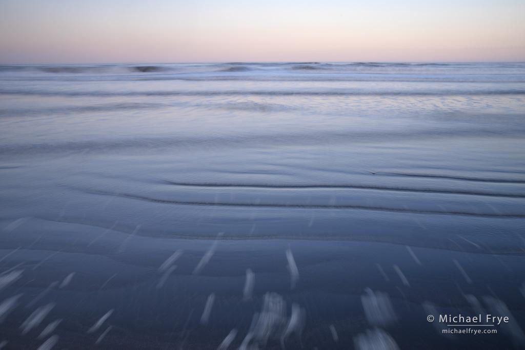 Crescent Beach at dawn, Crescent City, CA, USA